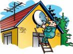 Спутниковые антенны с установкой